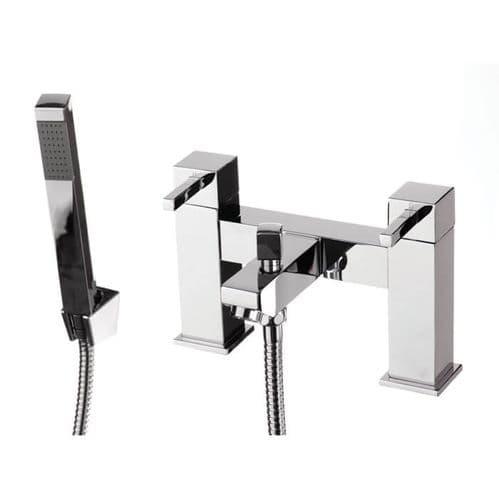 Jupiter Maude Chrome Two Handle Bath Shower Mixer EMP007